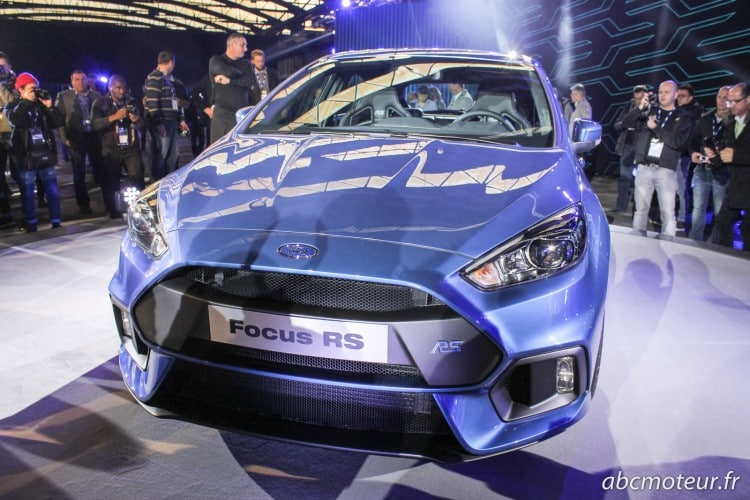 proue Ford Focus RS 3