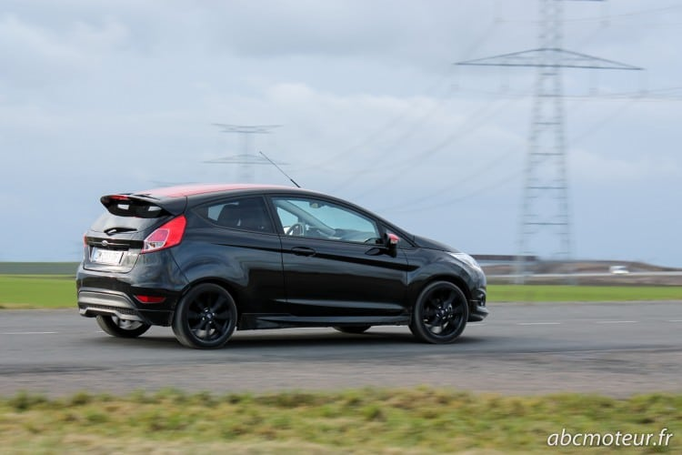 roulage Ford Fiesta Black Edition