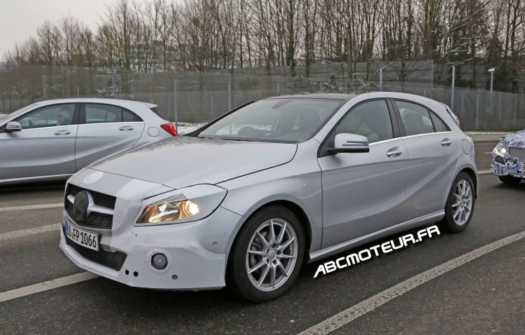 Mercedes Classe A restylee