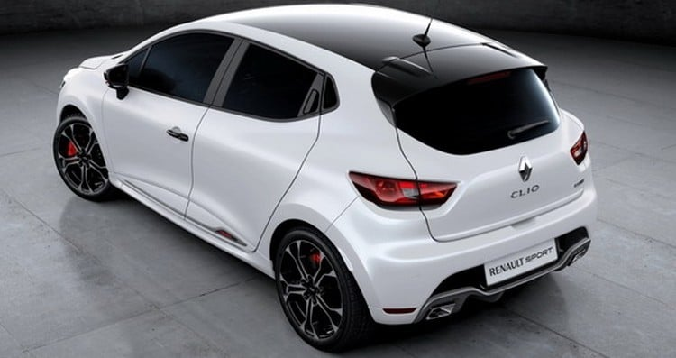 scoop 1 res images en fuite de la renault clio rs trophy. Black Bedroom Furniture Sets. Home Design Ideas