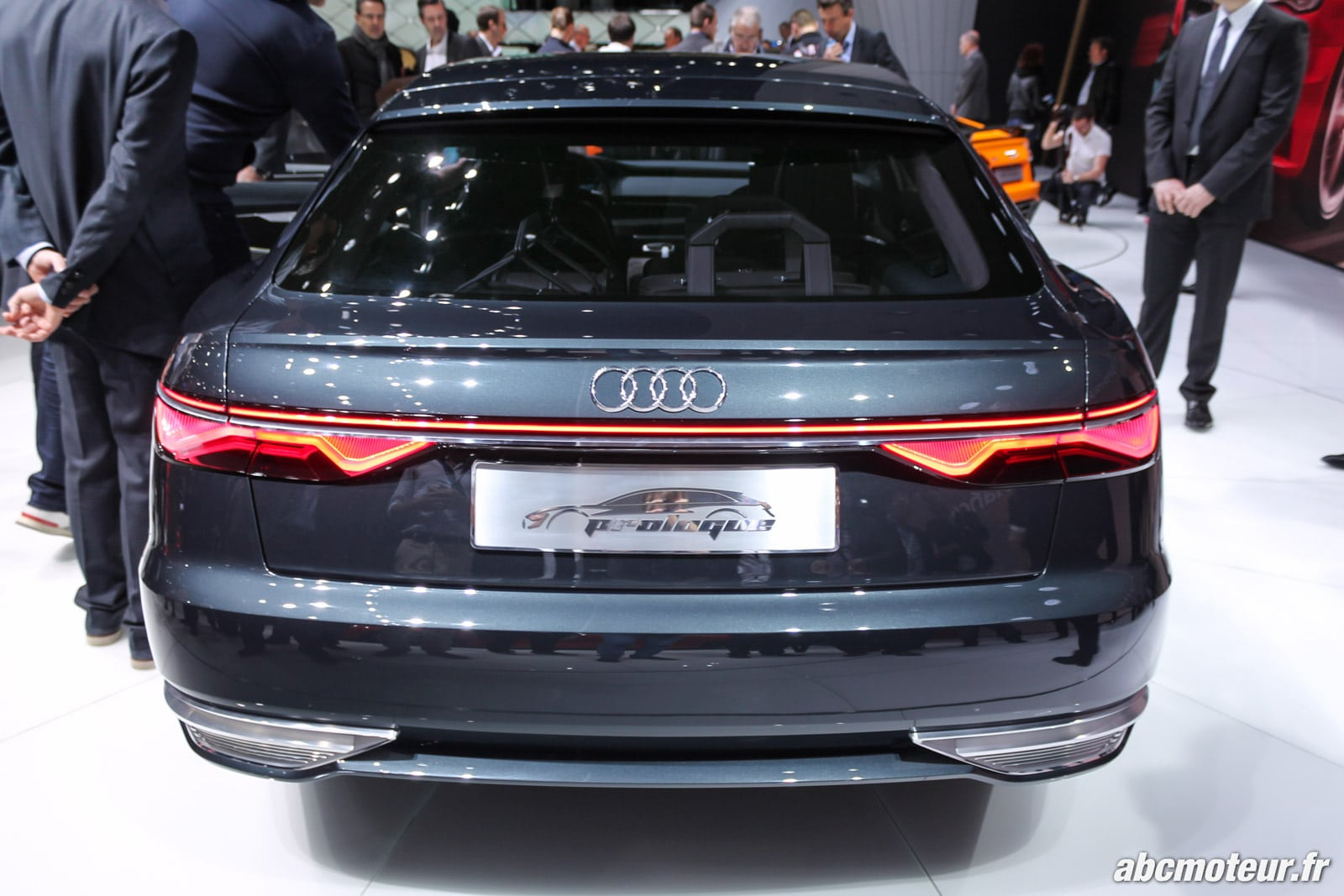 l 39 audi prologue avant concept au salon de gen ve. Black Bedroom Furniture Sets. Home Design Ideas
