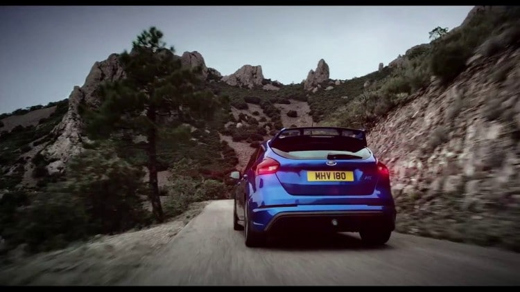 arriere Ford Focus RS 2015