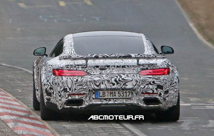 arriere Mercedes-AMG GT R