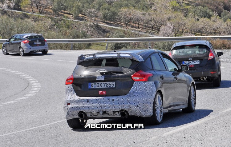 arriere proto Ford Focus RS