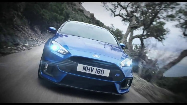 avant Ford Focus RS 2015