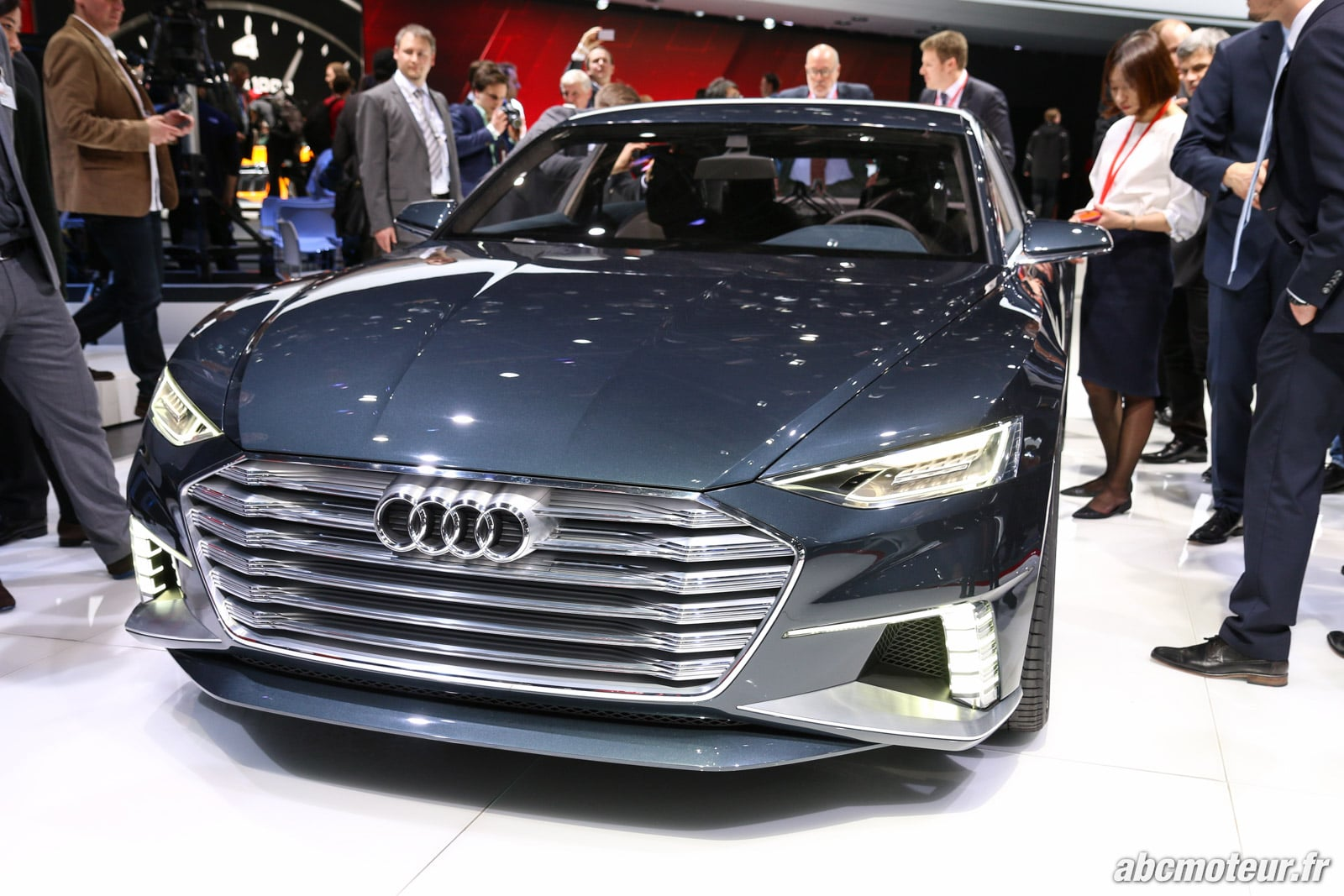 Nos photos de l'Audi Prologue qui s'allonge et devient Avant