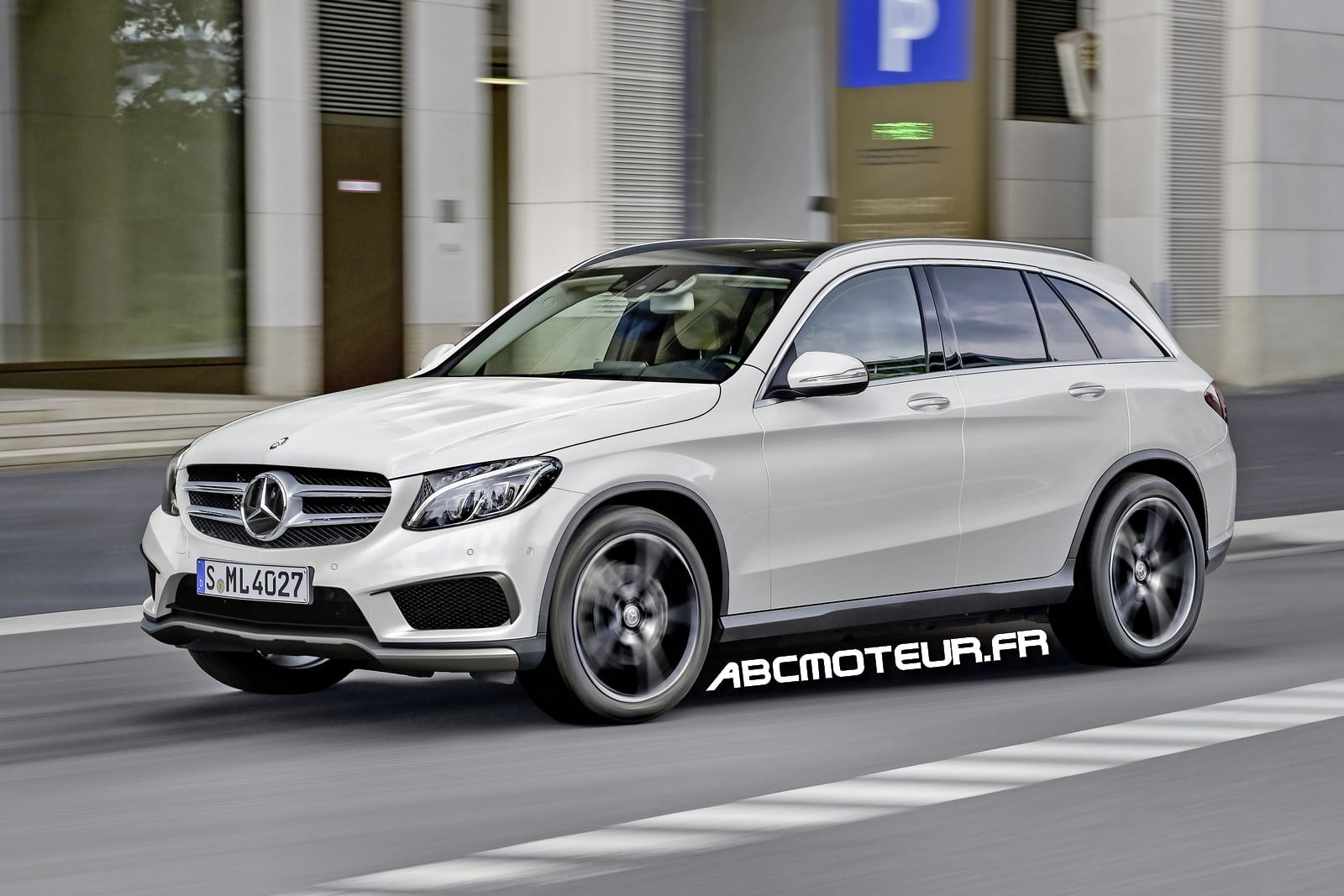 spyshot le mercedes glc plug in hybrid 2016 en photos. Black Bedroom Furniture Sets. Home Design Ideas