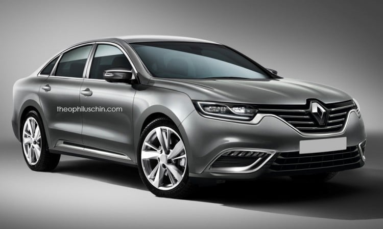 illustration future Renault Laguna IV 2015