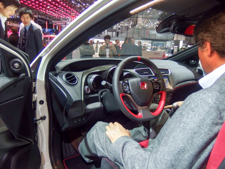 interieur Honda Civic Type R Geneve 2015