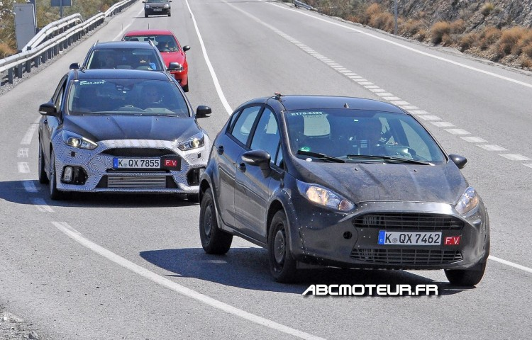 mulet Ford Fiesta RS