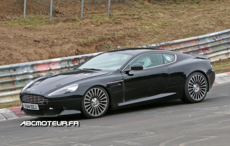 photo espion Aston Martin DB9