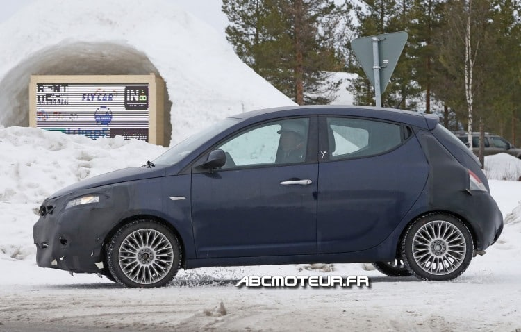 photo espion Lancia Ypsilon restylee