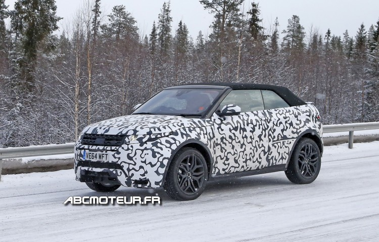 photo espion Range-Rover-Evoque-Cabriolet