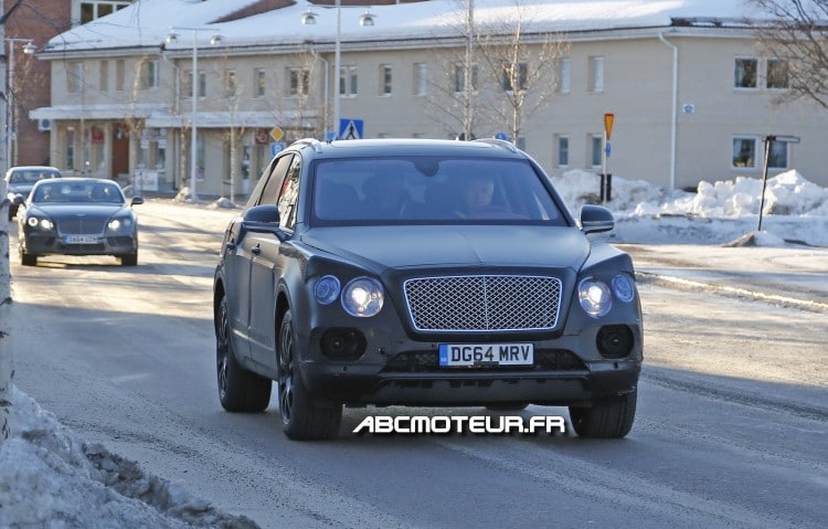 spyshot Bentley Bentayga
