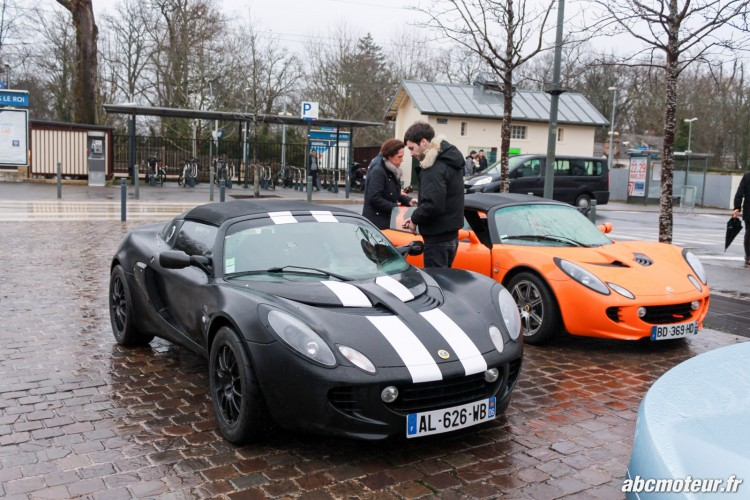Lotus Elise 111R sortie 77 Club Lotus France IDF mars 2015-3