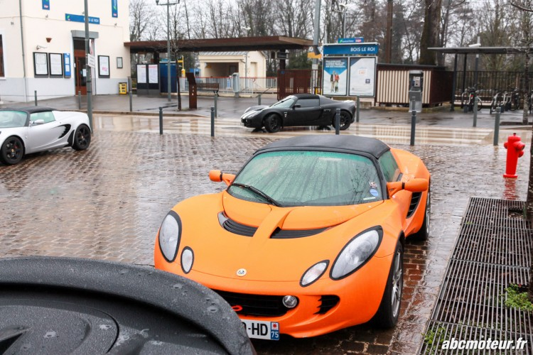 Lotus Elise 111R sortie 77 Club Lotus France IDF mars 2015