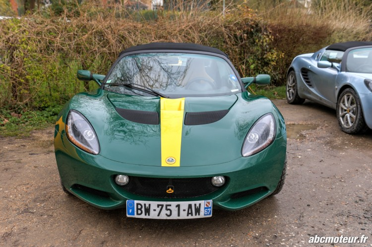 Lotus Elise S3 sortie 77 Club Lotus France IDF mars 2015