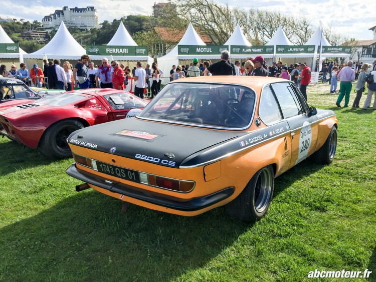 arriere BMW 2800 CS 1970 Tour Auto 2015