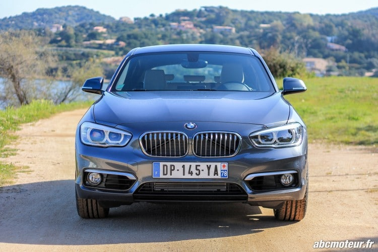 avant BMW Serie 1 F20 restylee 120d