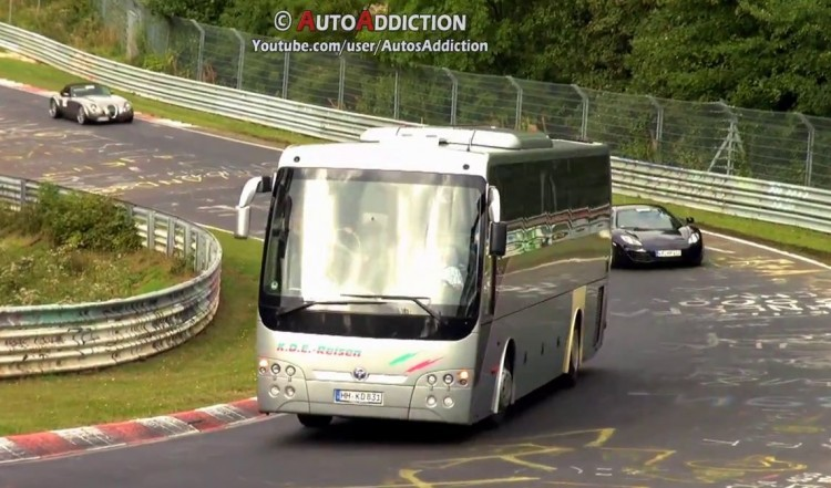 compilation vehicules insolites nurburgring