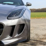 optique avant Jaguar F-Type R Coupe