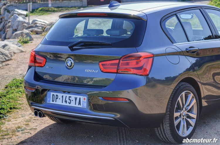poupe BMW Serie 1 F20 restylee 120d
