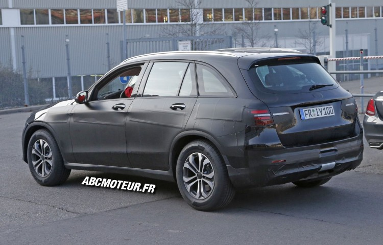 vue 3-4 arriere prototype SUV Mercedes GLC
