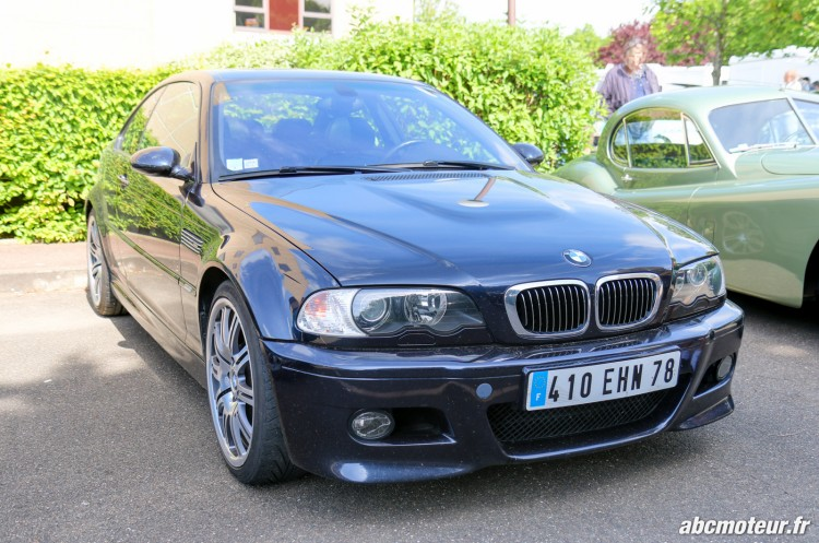 BMW M3 E46 rassemblement Bailly