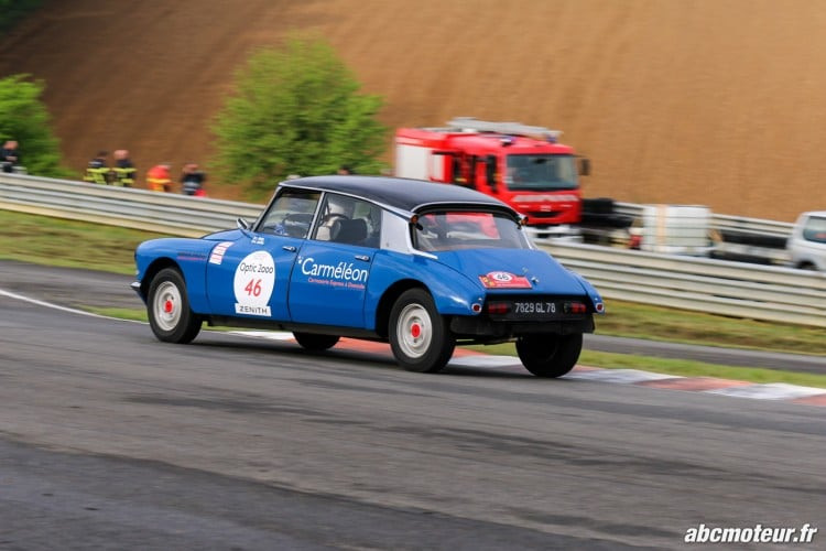 Citroen DS 19 circuit Pau Arnos Tour Auto 2015-2