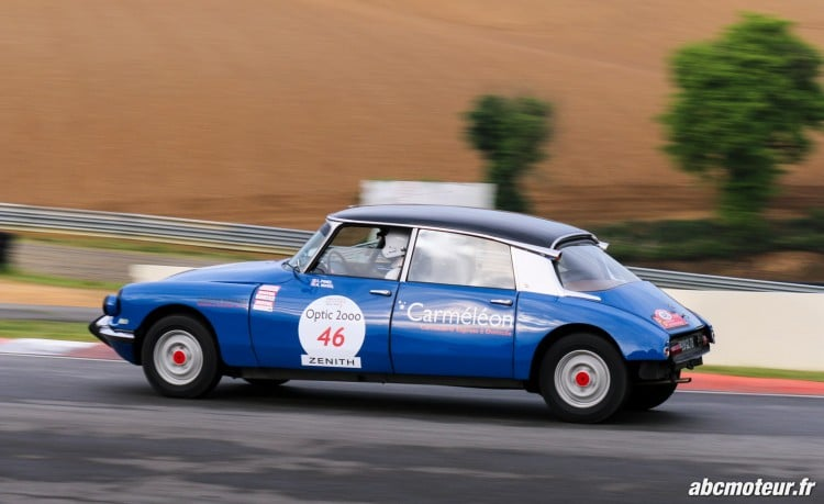 Citroen DS 19 circuit Pau Arnos Tour Auto 2015-3