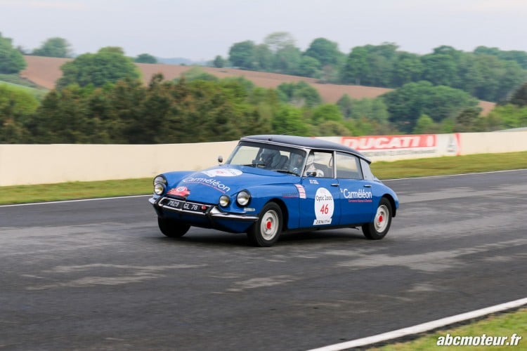 Citroen DS 19 circuit Pau Arnos Tour Auto 2015