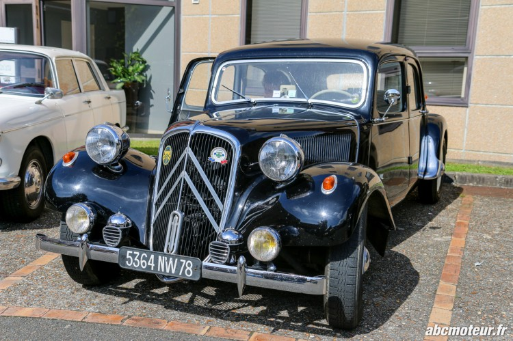 Citroen Traction Avant rassemblement Bailly