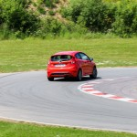 Ford Fiesta ST circuit Clastres