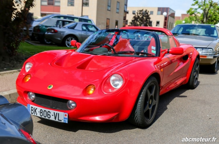 Lotus Elise S1 rassemblement Bailly
