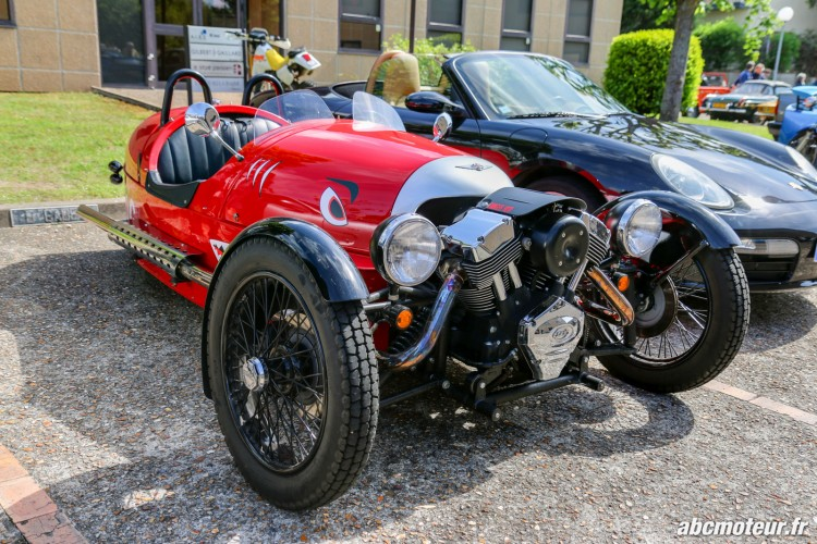 Morgan 3 Wheeler rassemblement Bailly