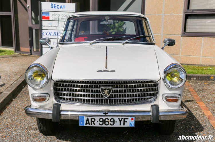 Peugeot 404 rassemblement Bailly