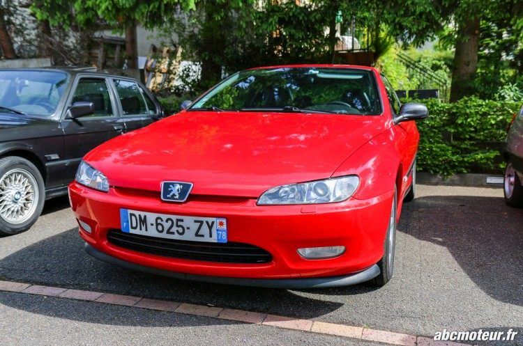 Peugeot 406 Coupe rassemblement Bailly