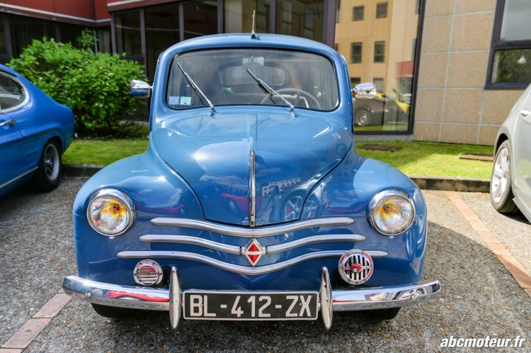 Renault 4CV rassemblement Bailly