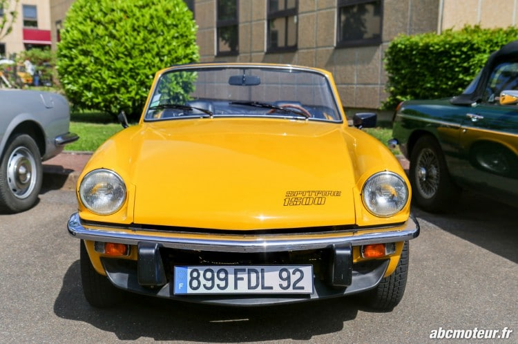 Triumph Spitfire 1500 rassemblement Bailly