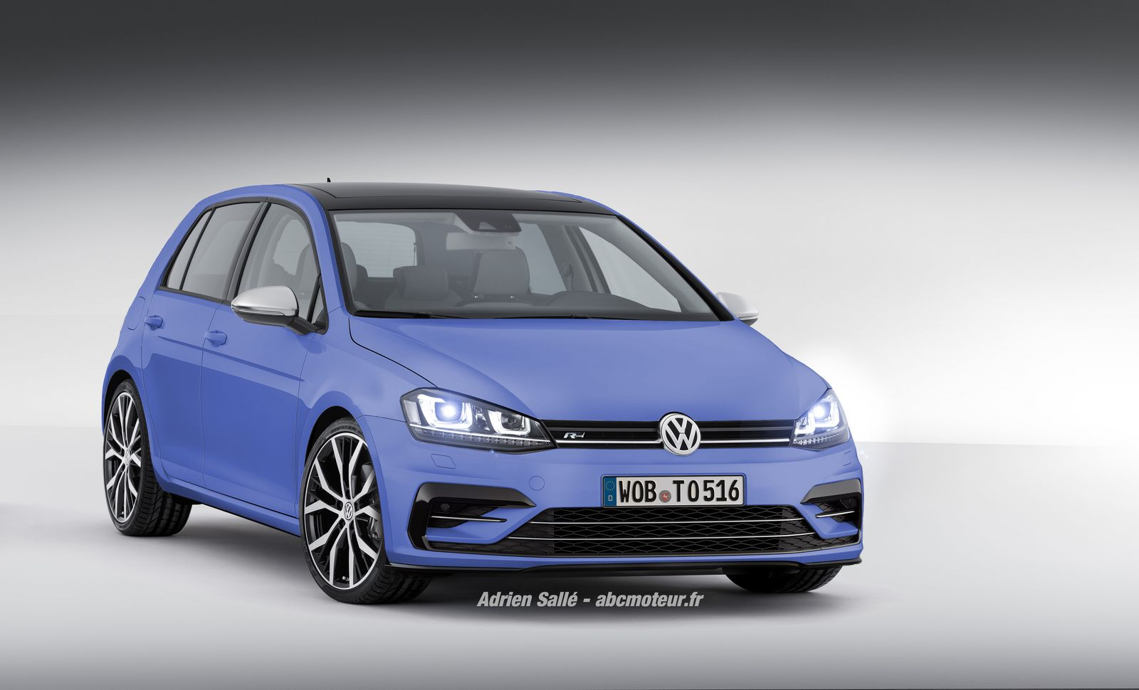 volkswagen golf vii restyl e ce devrait tre pour 2015. Black Bedroom Furniture Sets. Home Design Ideas
