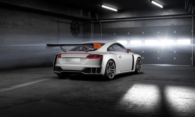 arriere Audi TT Clubsport Turbo