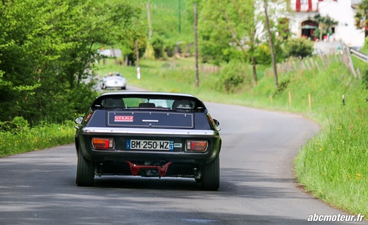 arriere Lotus Europa Twin Cam speciale Tour Auto 2015
