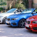 avant BMW Serie 2 Cabriolet