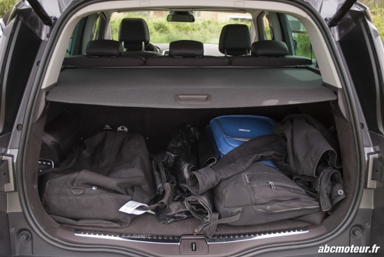 coffre charge Renault Espace V