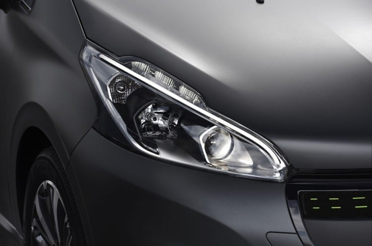 optique peugeot 208 ice silver