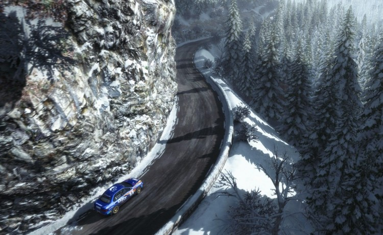 speciale neige DiRt Rally