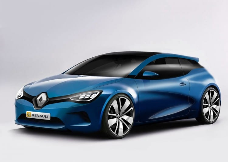 Voici une jolie proposition d'illustration pour la Renault Megane 4 dont Thomas Clavet en est l'auteur