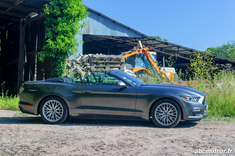 Ford Mustang Convertible EcoBoost-exterieur-6