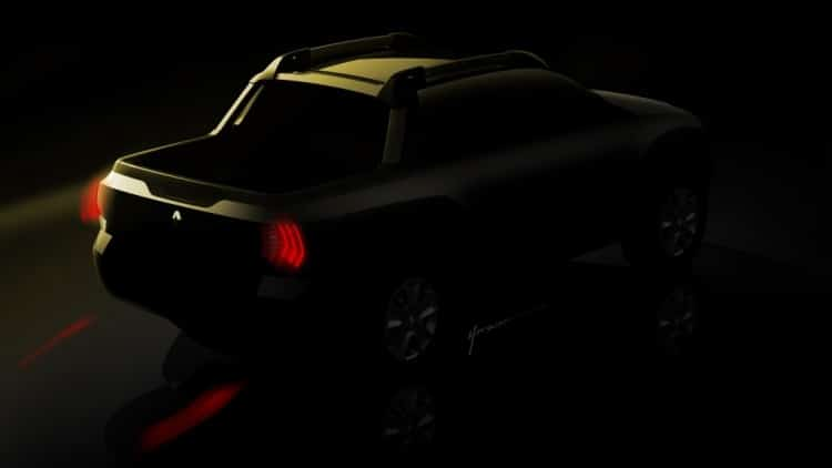 Renault Oroch Pick-up Teaser 2