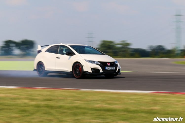 drift Honda Civic Type R FK2-2
